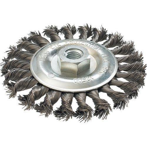 Szczotka druciana GRAPHITE 57H598 tarczowa 125 mm x M14 Inox z kategorii pozostałe narzędzia elektryczne