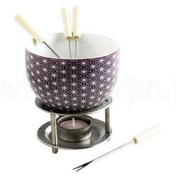 Czekoladowe fondue, zestaw - białe gwiazdki, Mastrad