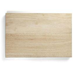 Deska z naturalnego drewna do krojenia, wymiary 45x30x4 cm, EXXENT 78500 z kategorii Pozostałe wyposażenie g