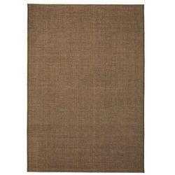 Dywan sizalowy, na zewnątrz i do wewnątrz, 160x230 cm, brązowy marki Vidaxl