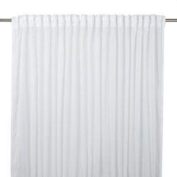Goodhome Firana kymbe 280 x 260 cm biała (3663602685777)