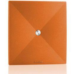 Eva solo - silikonowa podkładka pod szklankę, 4 szt. - kolor pomarańczowy