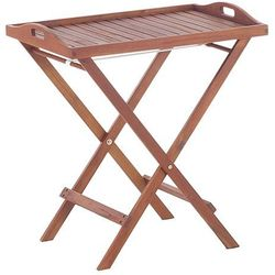 Drewniany stolik ogrodowy - stolik balkonowy - taca - TOSCANA (4260580934959)