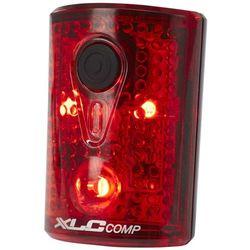 Xlc comp cl-r14 tylne światło patelnia, black/red 2020 lampki tylne na baterie