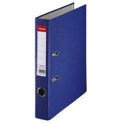 segregator a4 ekonomiczny z mechanizmem dźwigniowym 50mm, niebieski marki Esselte