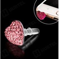 Zatyczka mini jack kolor różowy jasny - Różowy Jasny - sprawdź w wybranym sklepie