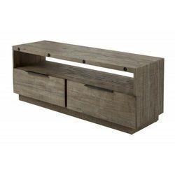 Sofa.pl Invicta stolik rtv finca 150 cm sosna - drewno naturalne, metal