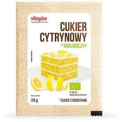 Cukier cytrynowy bio 20g -  wyprodukowany przez Amylon