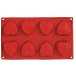 Pavoni Pav - muffin hearts (8 porcji)