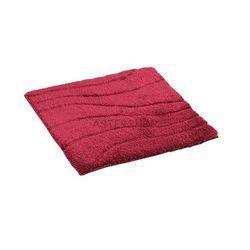 LA OLA Dywanik łazienkowy 55x50 cm poliester, czerwony 729816 (4006956729886)