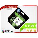 Hp Oryginalny tusz 703 cd888ae kolor do drukarek hp f730 f735 k109a k209a k510
