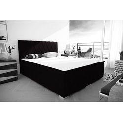 """Łóżko kontynentalne """"RIVIERA"""" 180x200 - pudrowy"""