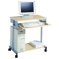 Stolik do komputera STANDARD czarny/buk DURABLE
