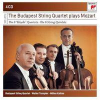 Mozart: The 6 Haydn Quartets / The 6 String Quartets (CD) - Budapest String Quartet