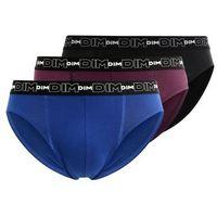 DIM 3 PACK Panty violet intense/bleu atlantique/noir (3610861156791)