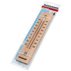 Fackelmann Termometr okienny drewniany zewnętrzny 16364 (4008033163644)