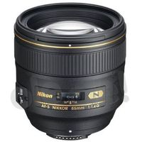 af-s nikkor 85 mm f/1,4g - produkt w magazynie - szybka wysyłka! marki Nikon
