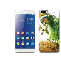 Foto Case - Huawei Honor 6 Plus - etui na telefon Foto Case - zielona papuga - sprawdź w wybranym sklepie