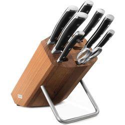 Blok z 6 nożami, stalką i nożyczkami classic ikon (w-9882) marki Wusthof