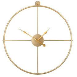 Zegar ścienny złoty ZUCHWIL, kolor żółty