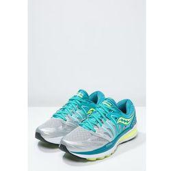 Saucony HURRICANE ISO 2 Obuwie do biegania Stabilność blue/silver/citron (0635841204395)