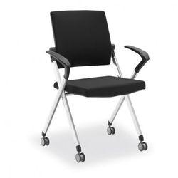 Krzesło konferencyjne flexim, czarne marki B2b partner