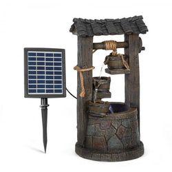 Blumfeldt speyer, ogrodowa solarna fontanna kaskadowa, 4 poziomy, zasilanie akumulatorowe