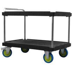 Wózek stołowy do dużych obciążeń,dł. x szer. 1200 x 800 mm, nośność 1000 kg marki Unbekannt
