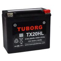 Akumulator wzmocniony Tuborg YTX20L-BS TX20HL 21Ah 340A/472A