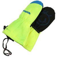 Reusch MAXI Rękawiczki z jednym palcem neon yellow/brilliant blue, kolor żółty