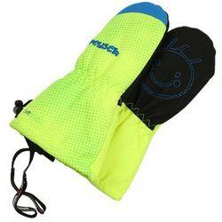 Reusch MAXI Rękawiczki z jednym palcem neon yellow/brilliant blue - sprawdź w wybranym sklepie