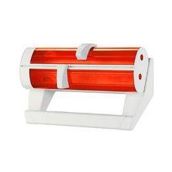Podajnik na folie, papier śniadaniowy i ręcznik kuchenny latina biało-czerwony gu-06260011 marki Guzzini