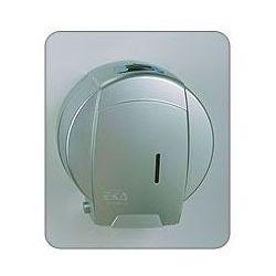 Pojemnik na papier toaletowy jumbo - satyna/chrom - marki Ekaplast