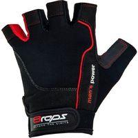 Rękawice kulturystyczne 8REPS DD-105 Men's Power męskie Czerwony (rozmiar XL)