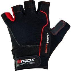 8reps Rękawice kulturystyczne  dd-105 men's power męskie czerwony (rozmiar xl), kategoria: rękawice do wa
