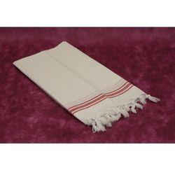 Sauna Łażnia - Hammam Ręcznik 100% Bawełna BAH6 biały, 93A3-50454