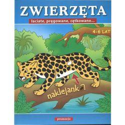 Zwierzęta łaciate pręgowane cętkowane Naklejanki, rok wydania (2009)