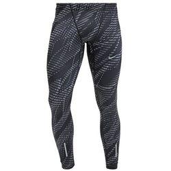 Nike Performance Legginsy black/cool grey/reflective silver, kolor czarny