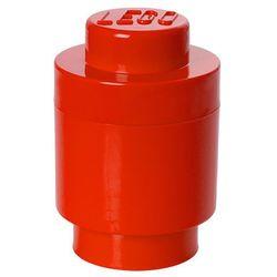LEGO® Pudełko okrągłe ø 12 x 18 cm, czerwony (5711938000011)