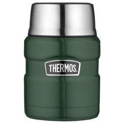 Termos obiadowy z łyżką king 470ml zielony marki Thermos