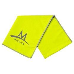 Chłodzący ręcznik MISSION Enduracool Microfiber Lrg Towel Hi Vis zielony