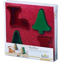 Foremki do muffinów i deserów Christmas Birkmann