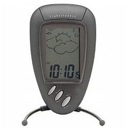 Perel zegar/stacja pogodowa z kalendarzem, alarm, temperatura wew. /zew. i wilgotność