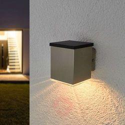 Kinkiet zewnętrzny solarny tyson, kątowy marki Lampenwelt.com