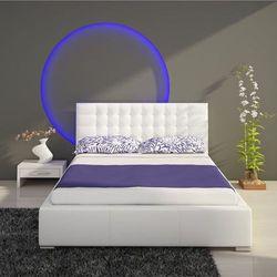 Isabelle łóżko tapicerowane 140 cm z pojemnikiem marki New composition factory