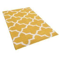 Dywan żółty wełniany 80x150 cm SILVAN (4260580929481)