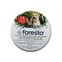 BAYER Foresto - Obroża obroża przeciw pchłom i kleszczom dla kotów i małych psów (dł. 38cm) - sprawdź