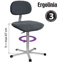 Krzesło obrotowe z tapicerką ergolinia 10002 marki Strima