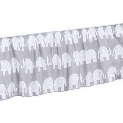 Mamo-tato falbanka do łóżeczka słoń szary