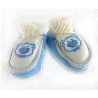 Miękkie buciki, skarpetki dla noworodka Niebieskie, 7C67-19165